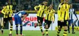 Aubameyang nets late equalizer against Hertha Berlin | 2016-17 Bundesliga Highlights