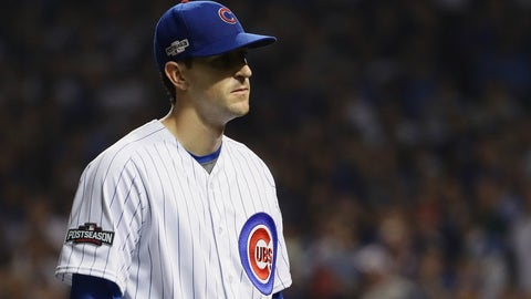 Kyle Hendricks' lack of any emotion whatsoever