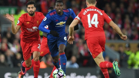 Paul Pogba thrives in more advanced midfield role