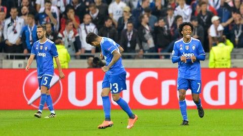 Juventus (Previously: 7)
