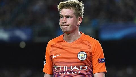 Kevin de Bruyne -- Manchester City