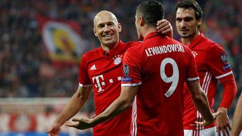 Bayern Munich (Previously: 3)