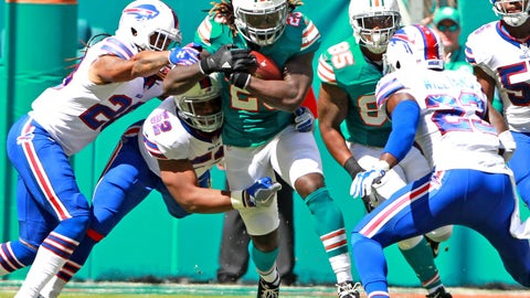 Miami Dolphins (last week: 25)