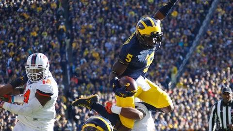 Michigan (7-0), re-rank: 2