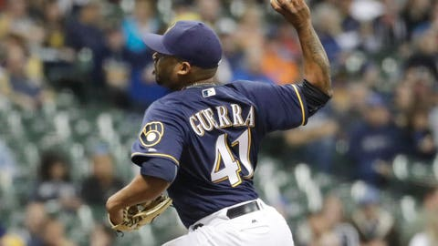 Oct. 7, 2015: Selected Junior Guerra off waivers from the Chicago White Sox