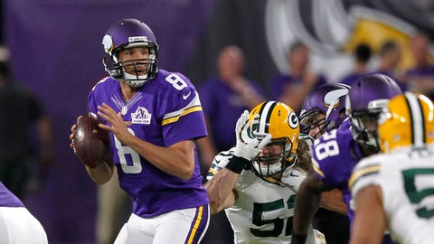 Sam Bradford and the offense have done enough to win, specifically by not turning the ball over