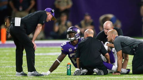 Injuries don't appear to be affecting the Vikings ability to win