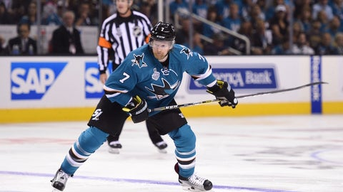 Paul Martin, D, San Jose Sharks