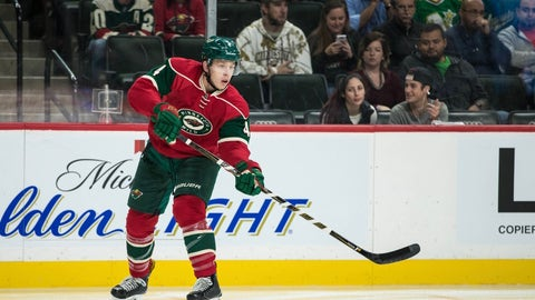 Mike Reilly, D, Minnesota Wild