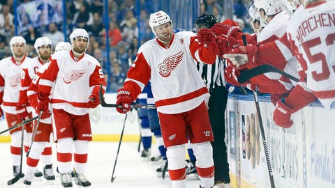 Thomas Vanek, F, Detroit Red Wings