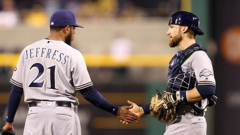 Aug. 1, 2016: Traded Jeremy Jeffress and Jonathan Lucroy to the Texas Rangers for Lewis Brinson, Luis Ortiz and a PTBNL (Ryan Cordell)