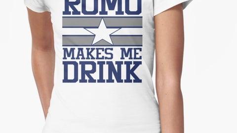 "Cowboys: ""Romo Makes Me Drink"""