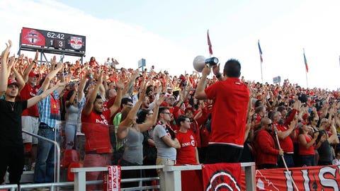 Toronto FC: 26,583 (87.9%)