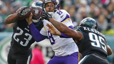 Vikings: Keep Sam Bradford upright