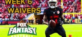 Fantasy Football: Top 3 Waiver Wire Targets