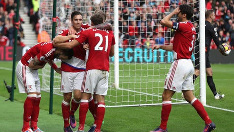 Breathing room for Middlesbrough
