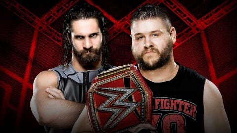 Kevin Owens vs. Seth Rollins for the Universal Championship inside Hell in a Cell