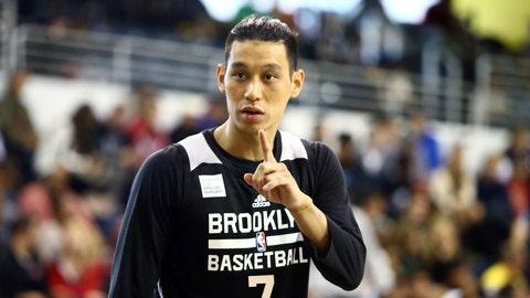 Jeremy Lin, PG, Brooklyn Nets