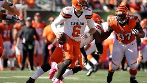 Cody Kessler, QB, Browns (4th last week)