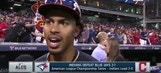 Lindor is falling in love with the Indians' faithful