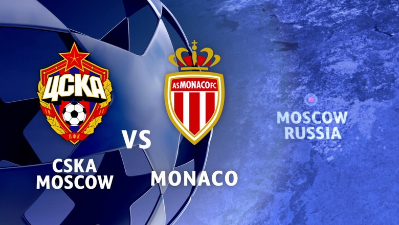 CSKA Moscow  vs. Monaco | 2016-17 UEFA Champions League Highlights