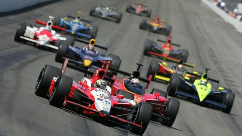 Dan Wheldon's racing career in photos