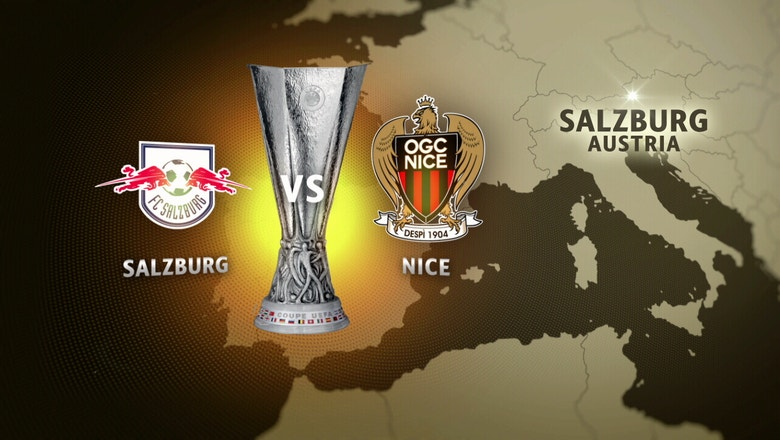 Red Bull Salzburg vs. Nice | 2016-17 UEFA Europa League Highlights