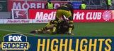 Christian Pulisic scores late equalizer against Ingolstadt | 2016-17 Bundesliga Highlights