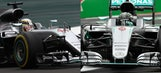 Starting grid for the Mexican Grand Prix