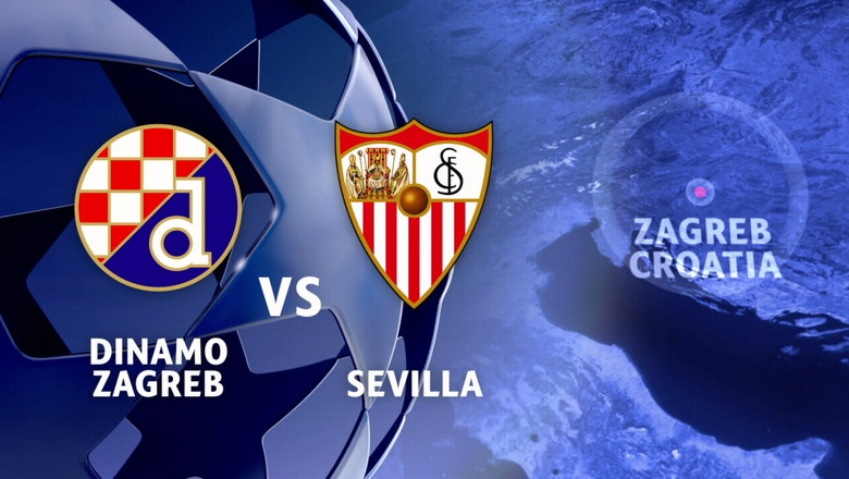 Dinamo Zagreb vs. Sevilla | 2016-17 UEFA Champions League Highlights