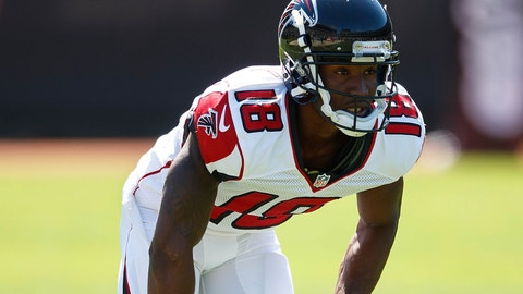 WR: Taylor Gabriel, Atlanta Falcons: 5-8, 167 pounds