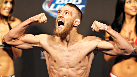Back in August 2013, McGregor's body was (mostly) a blank canvas