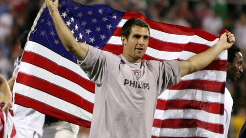 September 2005 — U.S. beats Mexico to clinch World Cup berth