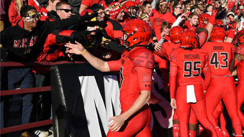"""Maryland (""""Red Ops"""" uniforms vs. Ohio State, Nov. 12)"""
