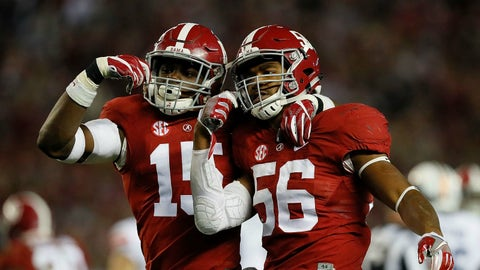 Alabama has booked its ticket to the playoff