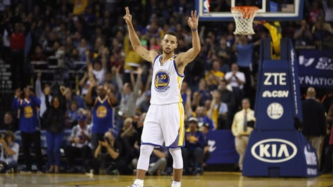 Golden State Warriors: Stephen Curry, PG