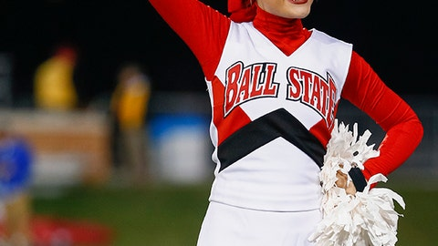 Ball State cheerleader