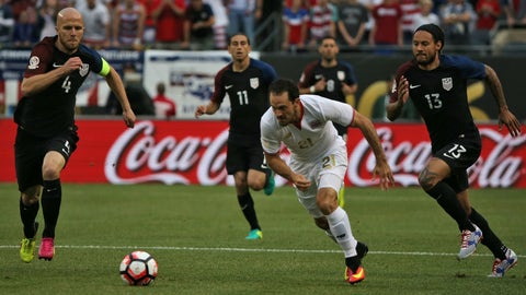 Costa Rica vs. USA – Tuesday, 9pm