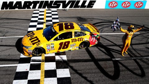Kyle Busch, STP 500 at Martinsville