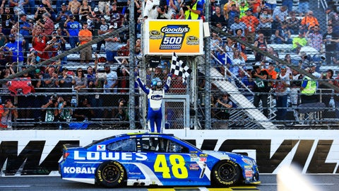 Jimmie Johnson, Goody's Fast Relief 500 at Martinsville