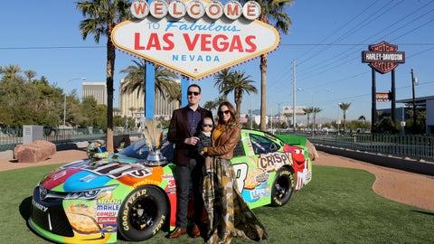 Celebrating in Vegas
