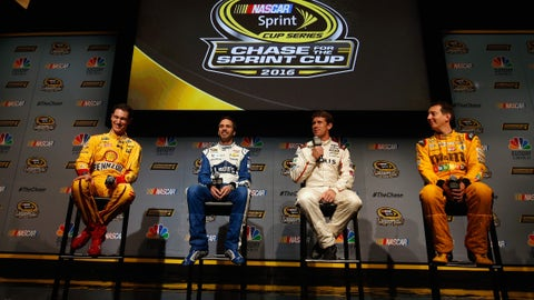 12 best quotes from the 12 Chase drivers