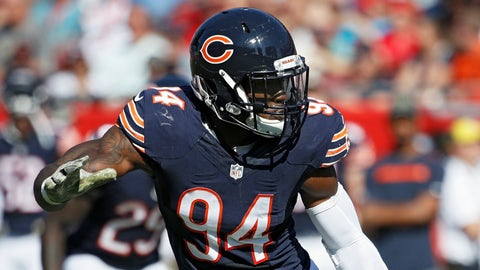 Leonard Floyd, LB, Bears (9th last week)
