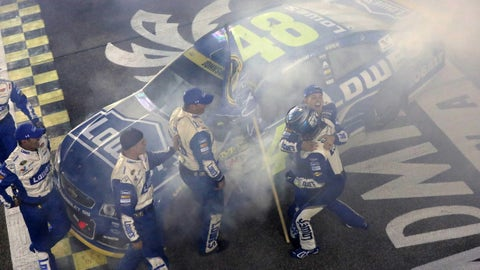 Jimmie Johnson wins historic seventh championship