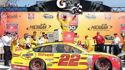 Joey Logano, Michigan International Speedway