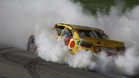 Kyle Busch, Kansas Speedway