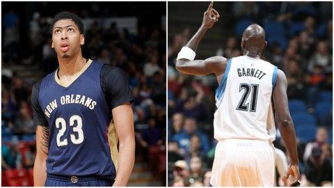 Anthony Davis, New Orleans Pelicans: Kevin Garnett