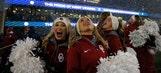 College football cheerleaders: Week 12