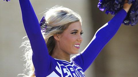 TCU cheerleader