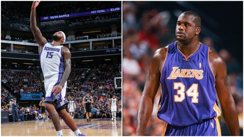 DeMarcus Cousins, Sacramento Kings: Shaquille O'Neal